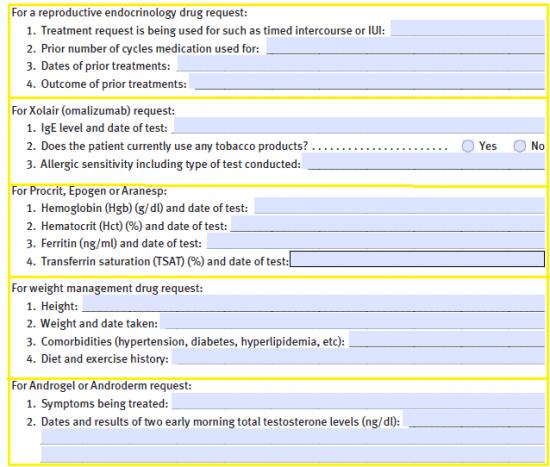 Free CDPHP Prior Prescription (Rx) Authorization Form - PDF