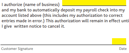direct deposit form chase  Chase Bank Direct Deposit Authorization Form | Authorization ...