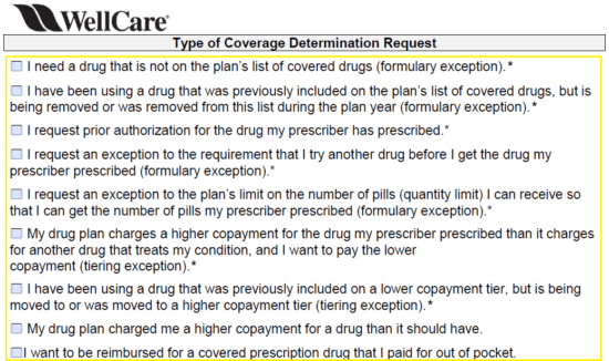 Free Wellcare Prior Prescription Rx Authorization Form Pdf